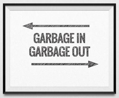 garbage in garba