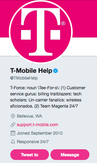 Twitter Direct Message for Customer Service