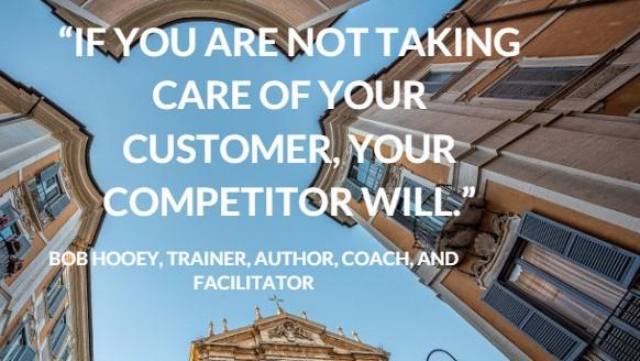 take care of your customer quote