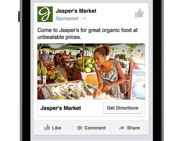 still image facebook ad example