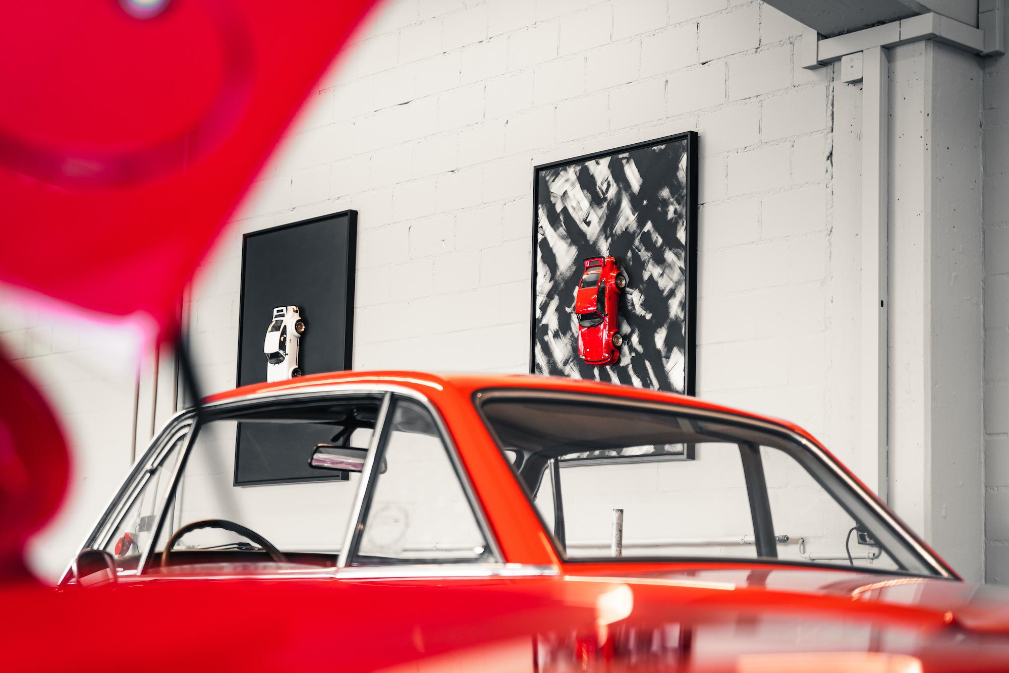 PROJEKT934 Model Car Red