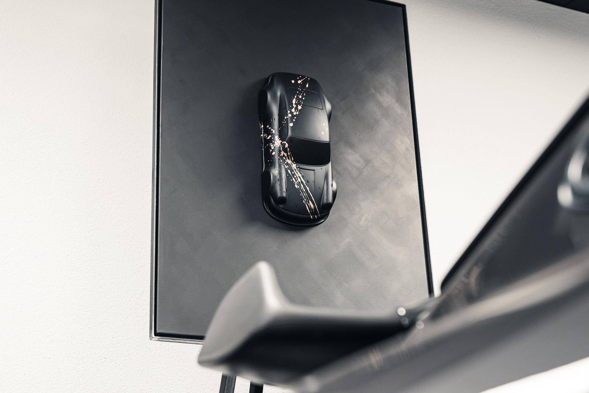 PROJEKT934 Model Car Black