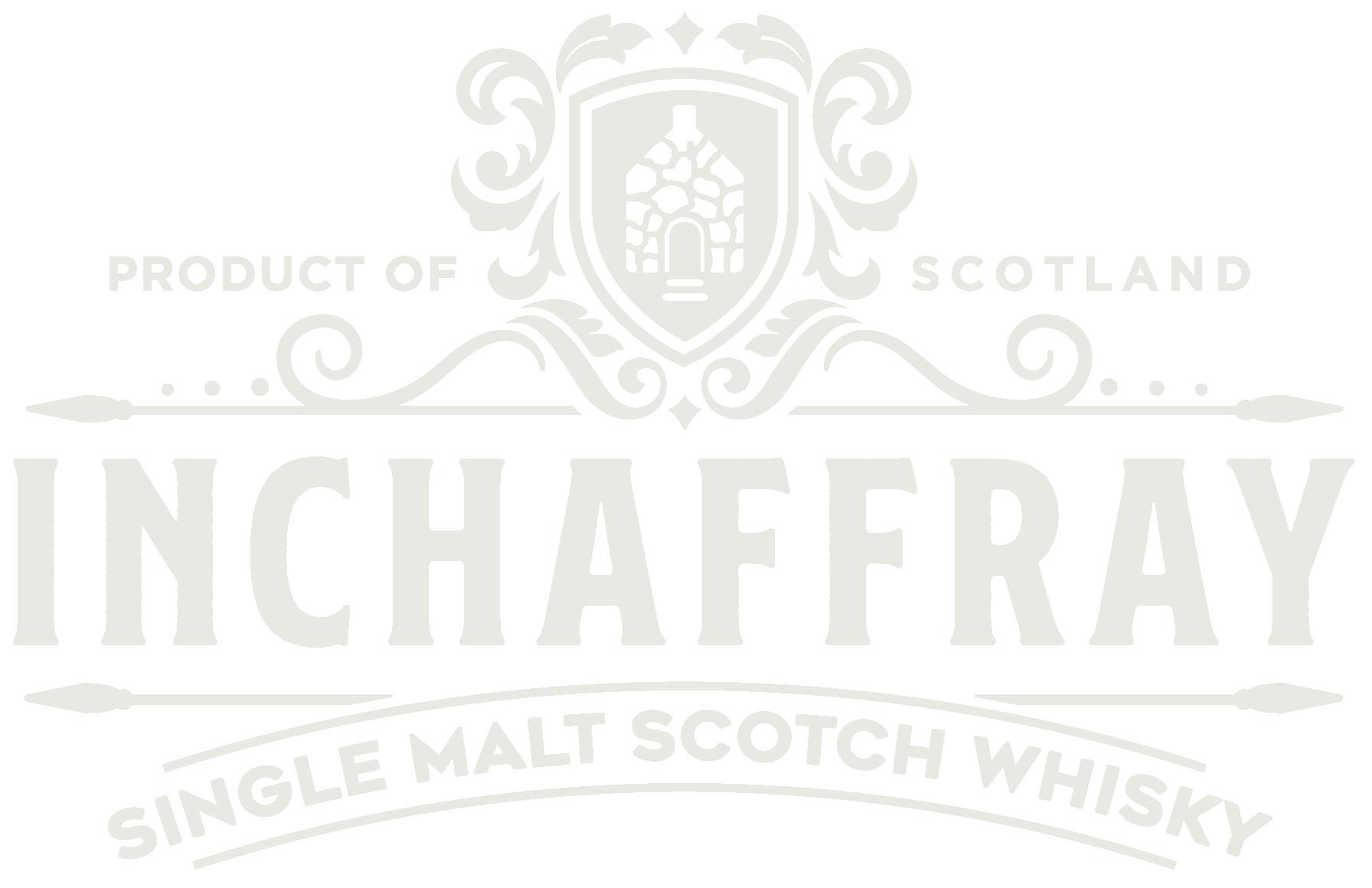 White Inchaffray Whisky logo