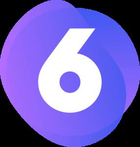 Paarse Shopware 6 logo
