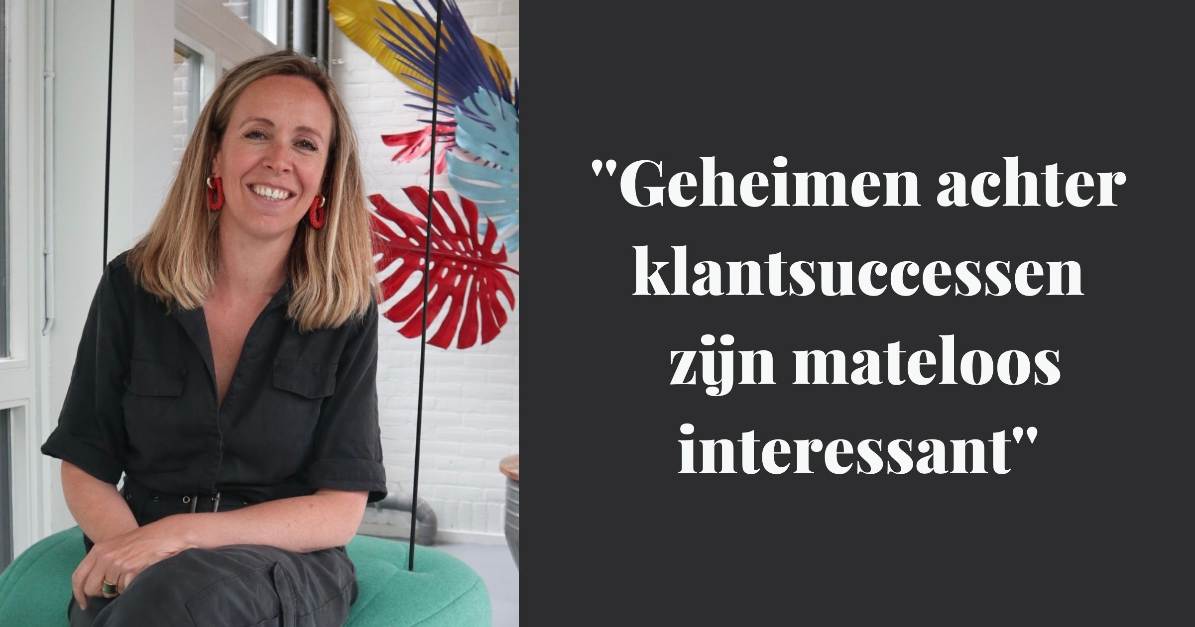 Anne-Marieke in het Emerce Magazine