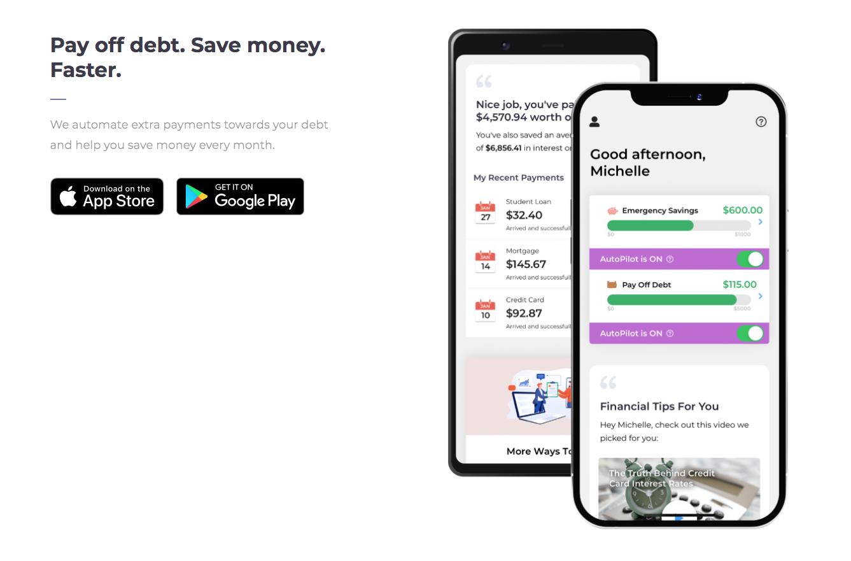 Screenshots of Qoins, a No Code app