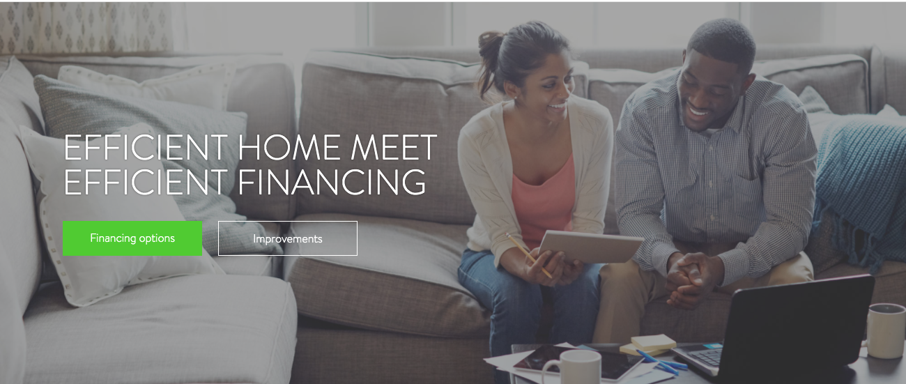 Dividend Finance visual, a home improvement financing solution built with No Code