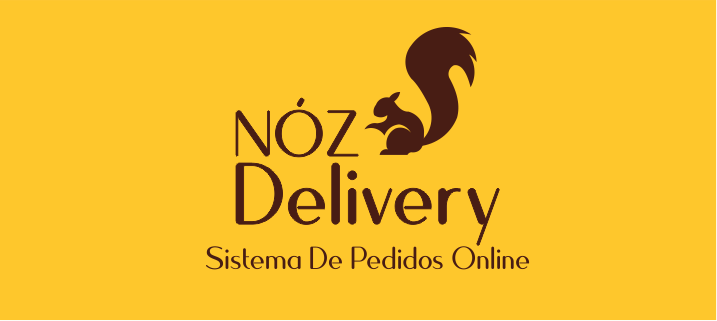 The logo of Nóz Delivery, a food delivery platform built on Bubble