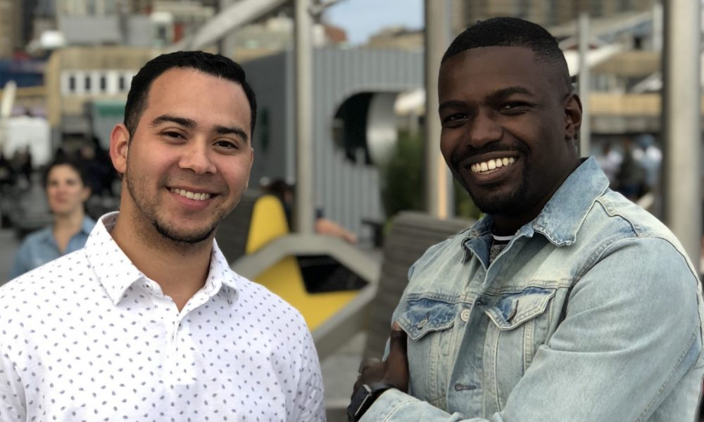 Founders of Qoins, Christian Zimmerman and Nate Washington