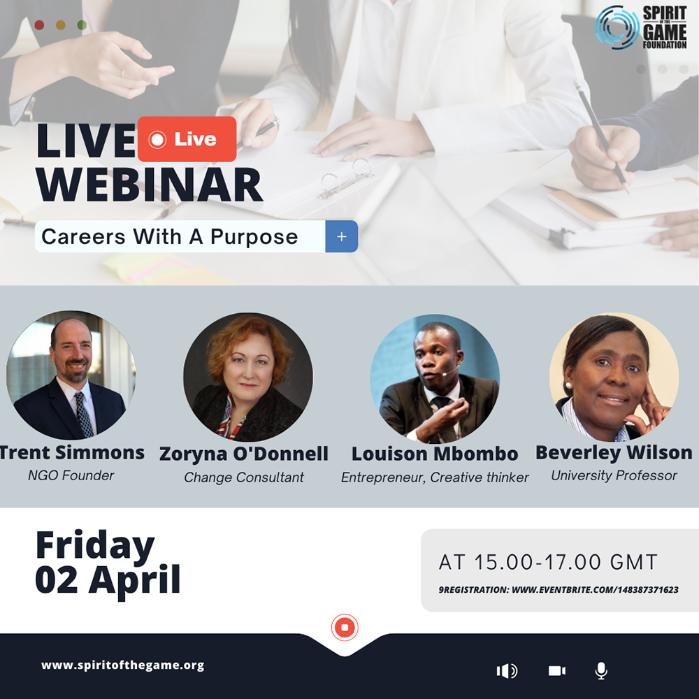 the webinar panel which includes Zoryna