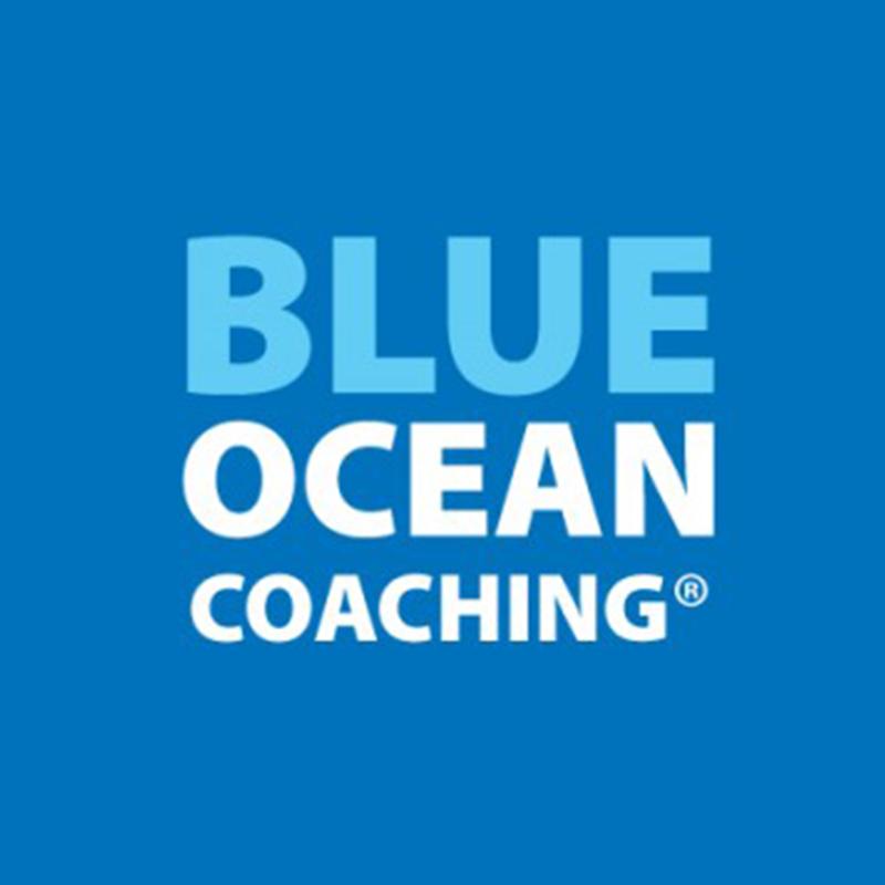 blue ocean coaching logo