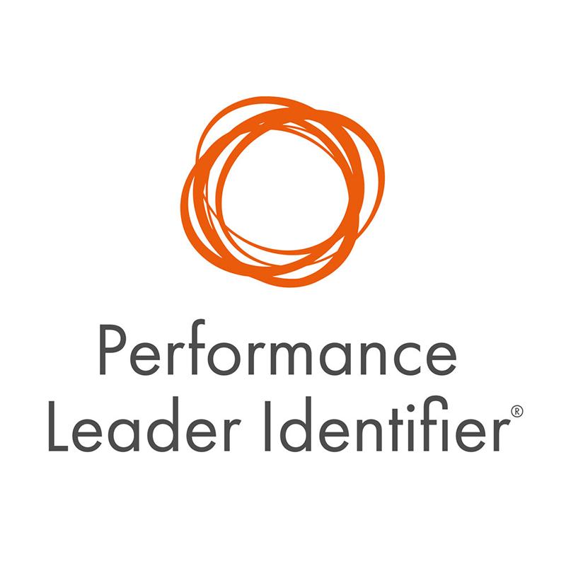 performance leader identifier logo