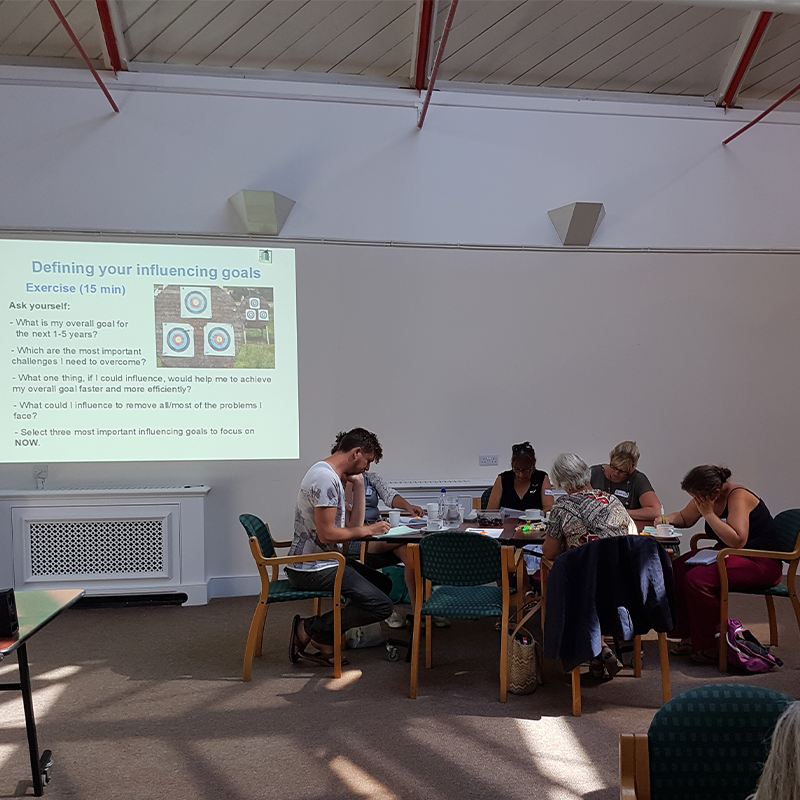 workshop with Community Action Isle of Wight