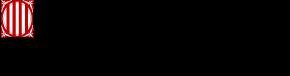 Logo of the government of Catalonia. Logo del Gobierno de Catalunya