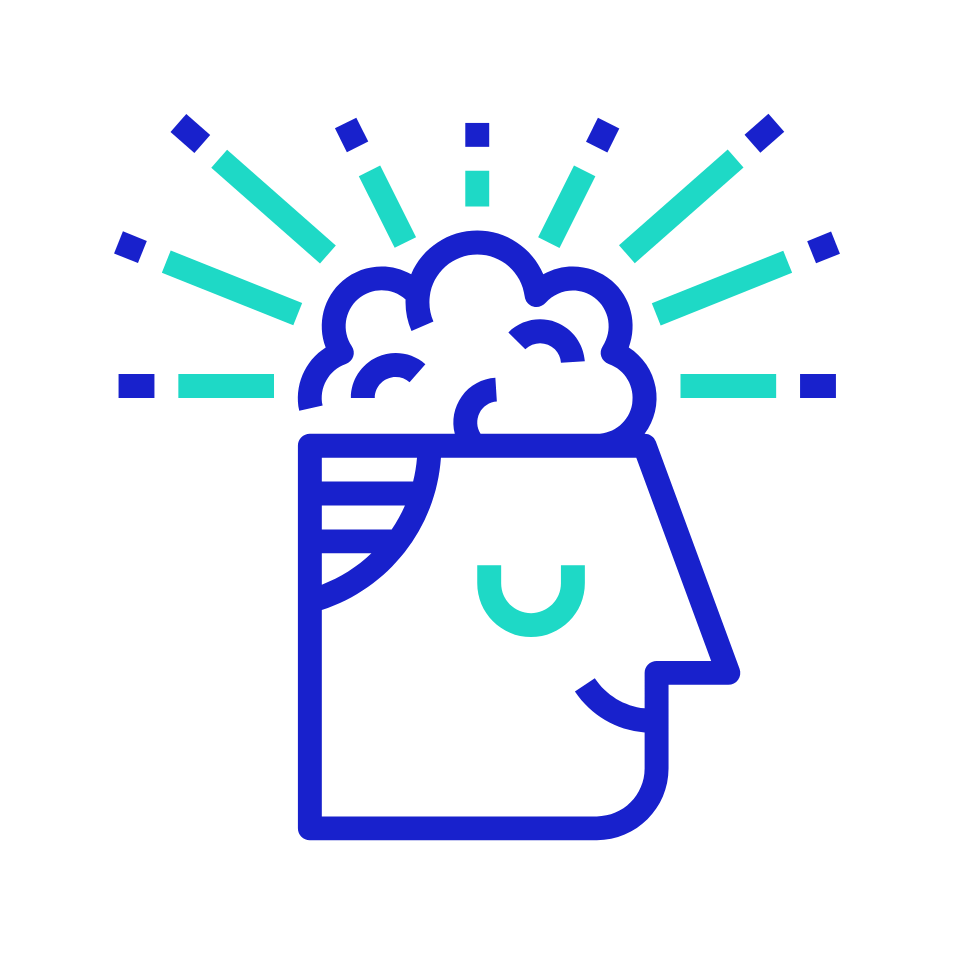 Icon: A person's mind