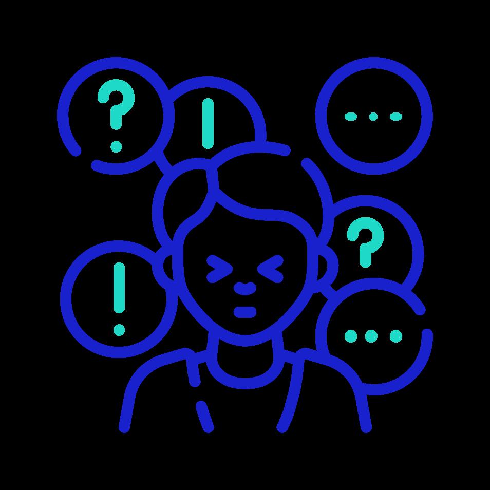 Icon: Confused Person