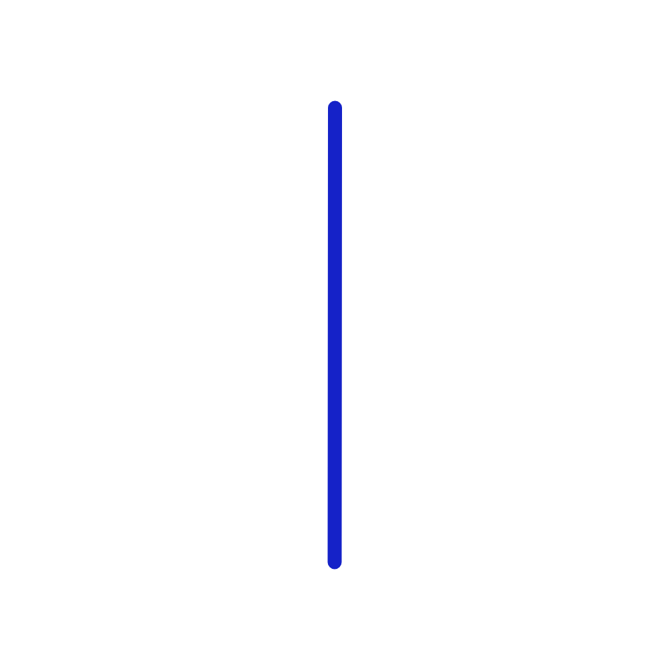 Icon: Vertical Line