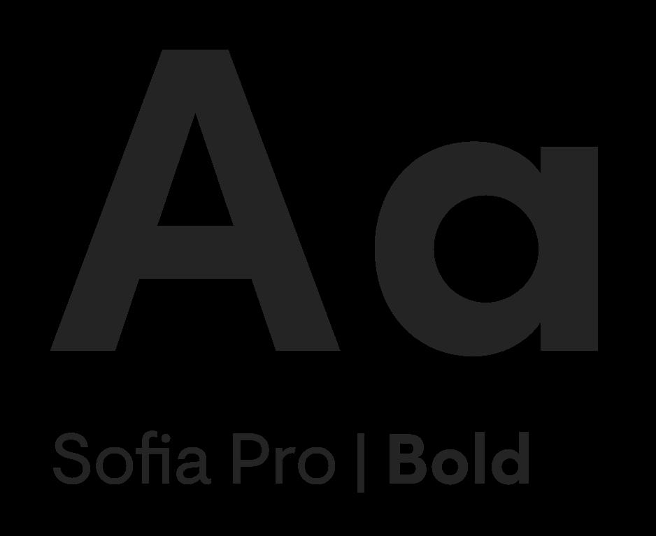 Sofia Pro Typeface