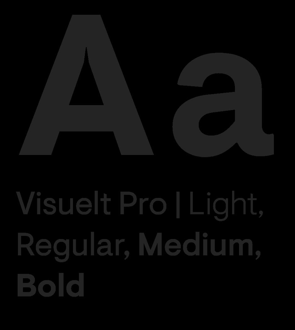 Visuelt Pro Typeface