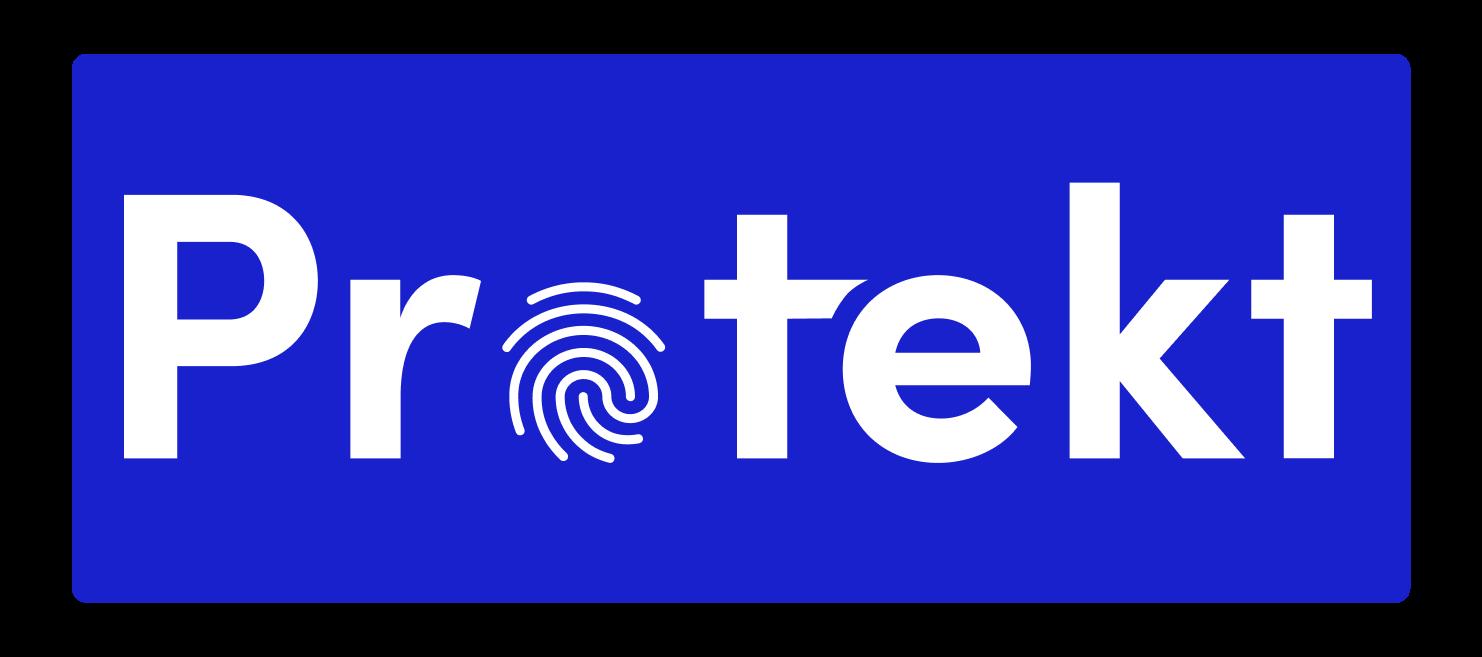 Protekt reverse mono word mark