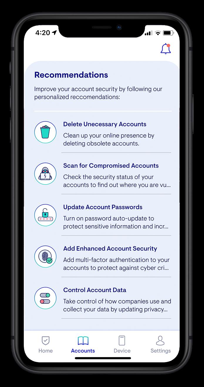 App Mockup in iPhone