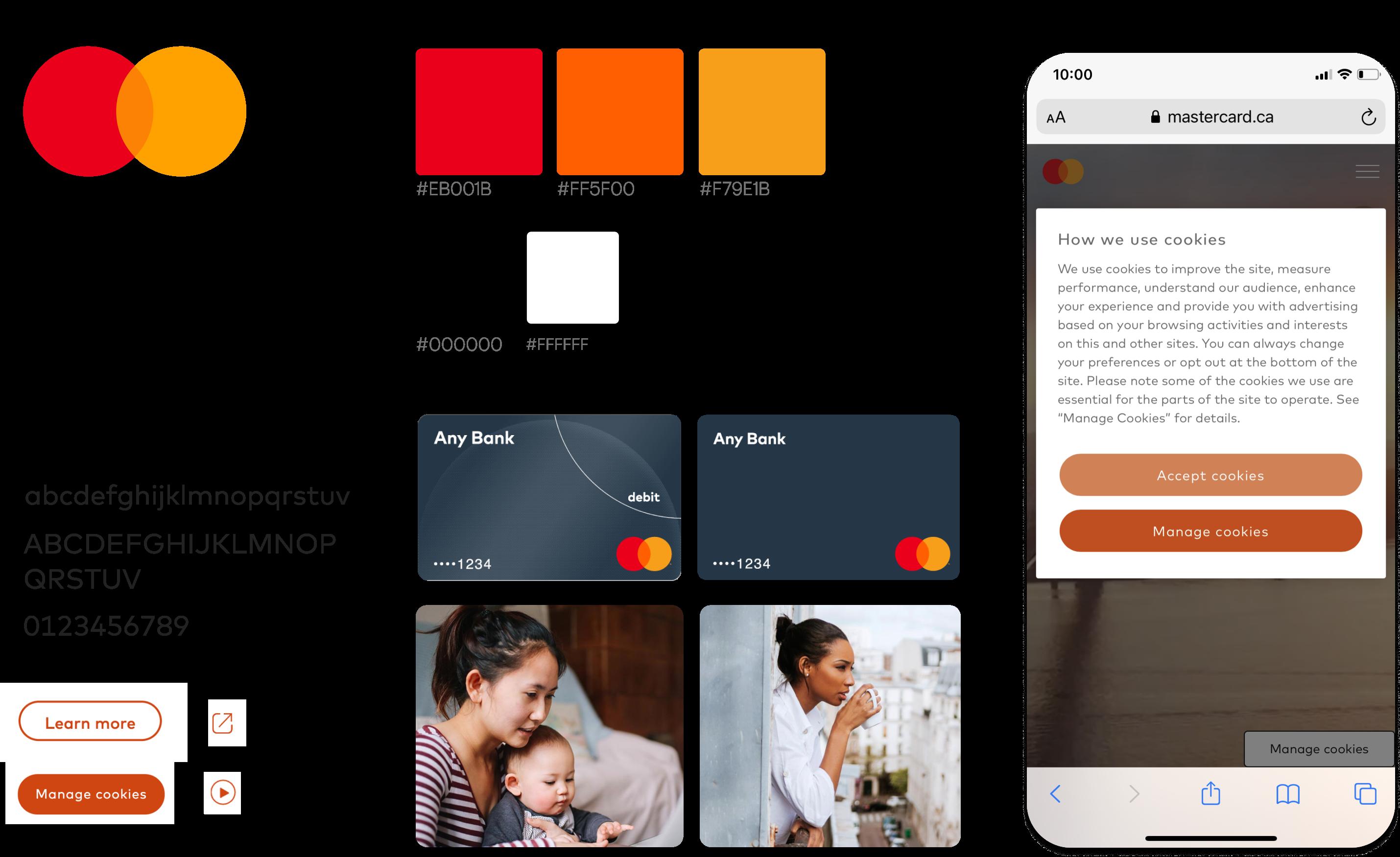 Mastercard's branding assets