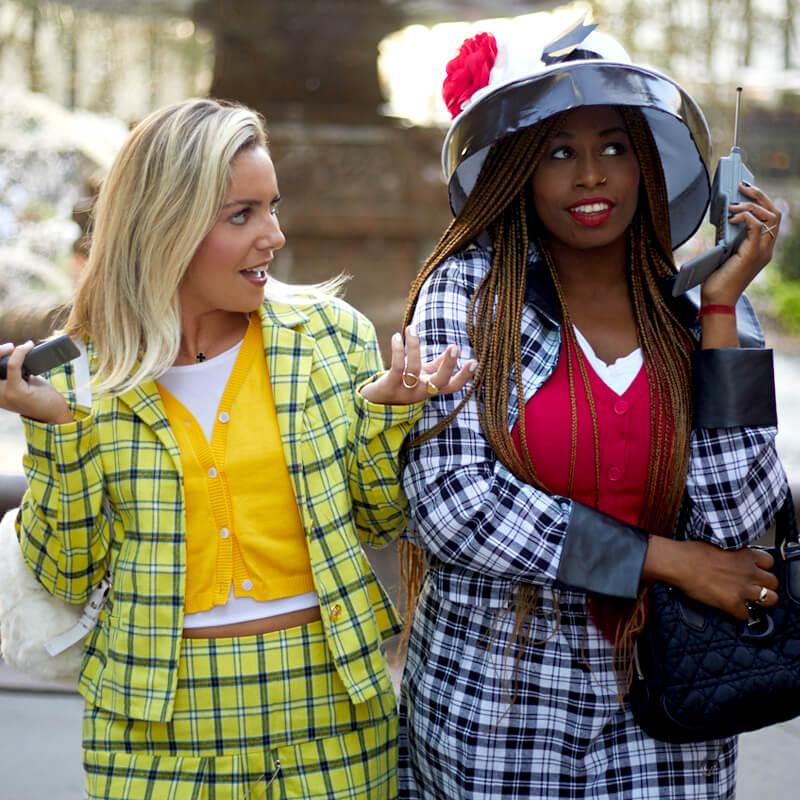Paramount Pictures iconic Clueless look recreated for social media.