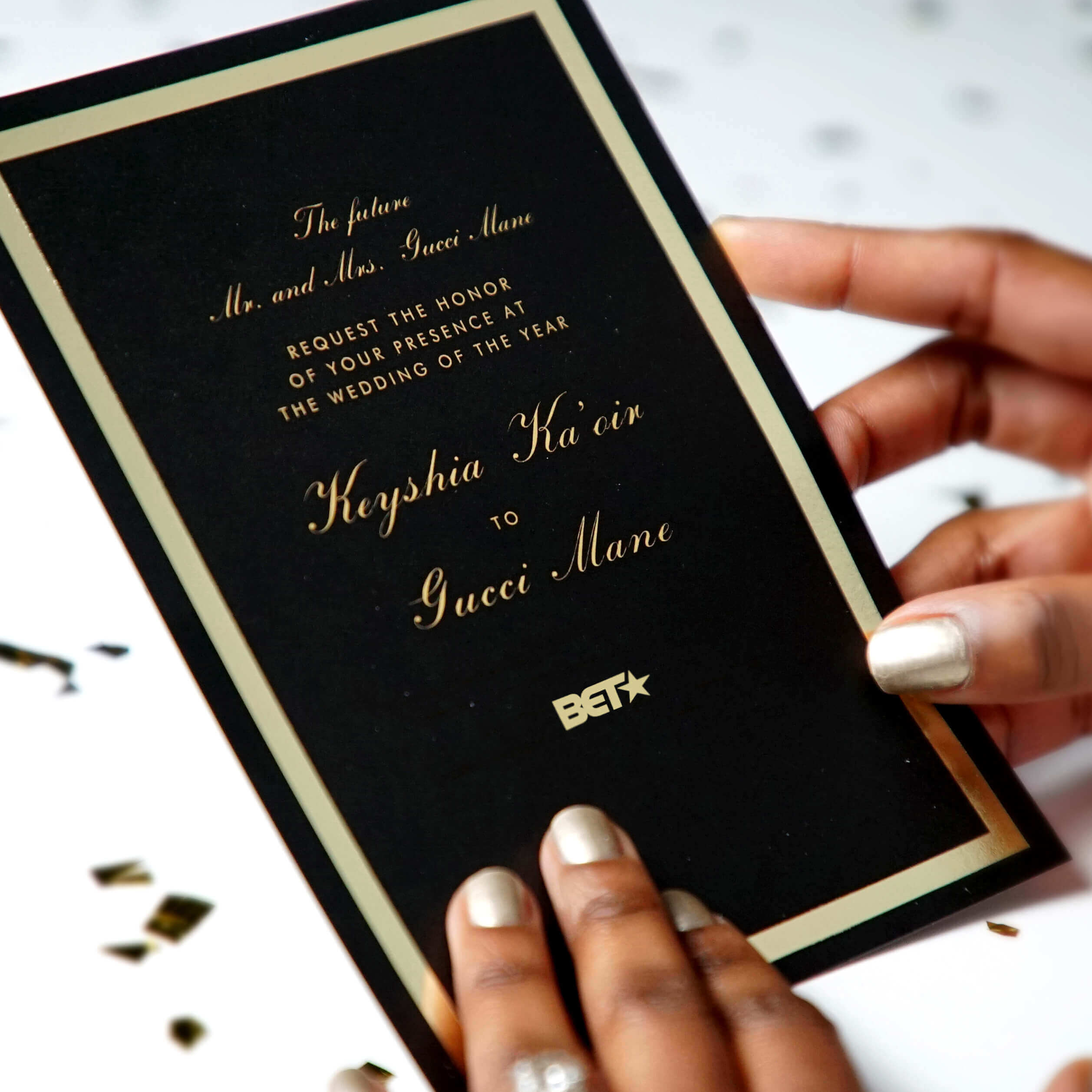You are invited to the wedding of the year – Keyshia Ka'oir to Gucci Mane.