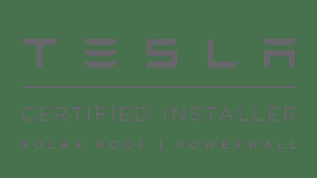 Tesla Certified Installer. Solar Roof and Powerwall