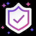 """""""Insured"""" - shield icon"""