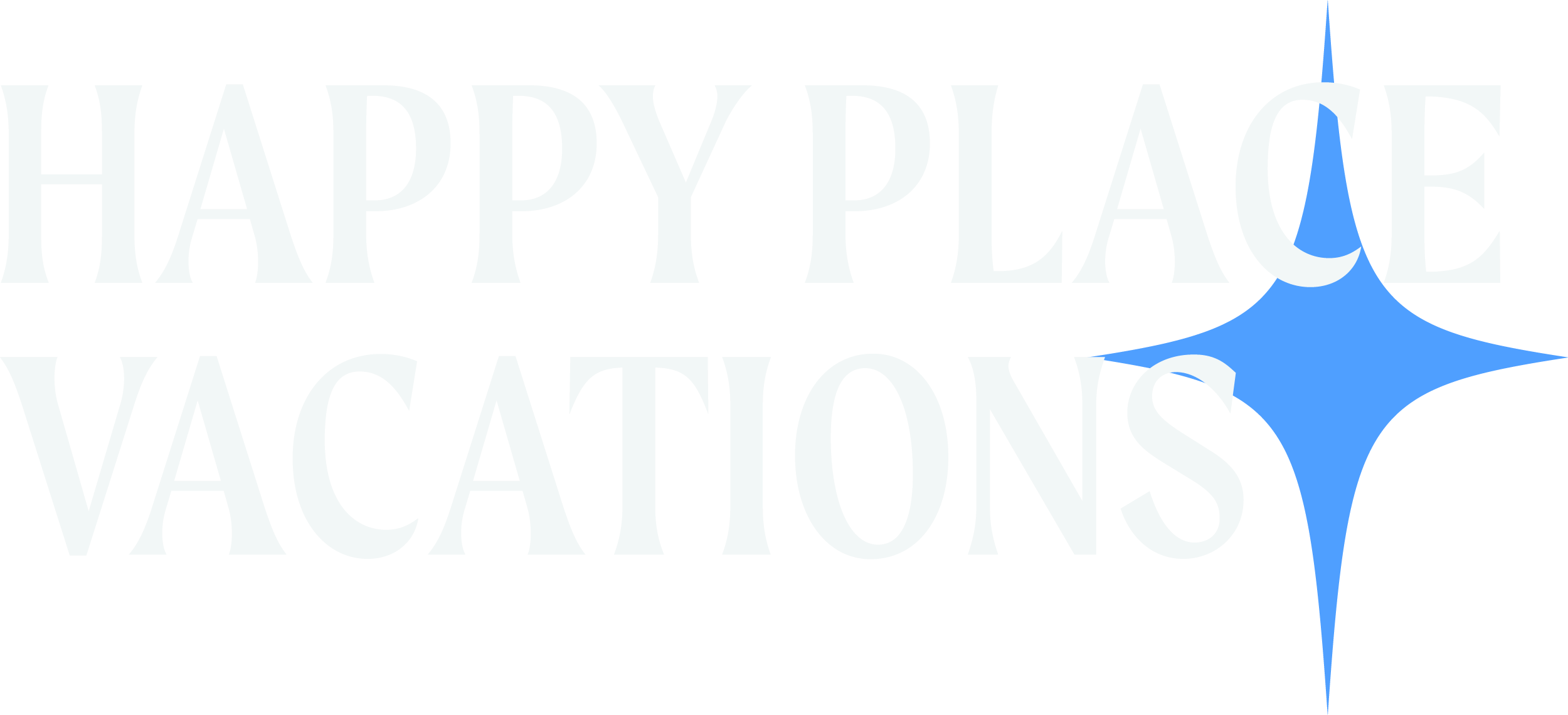 Happy Place Vacations logo design