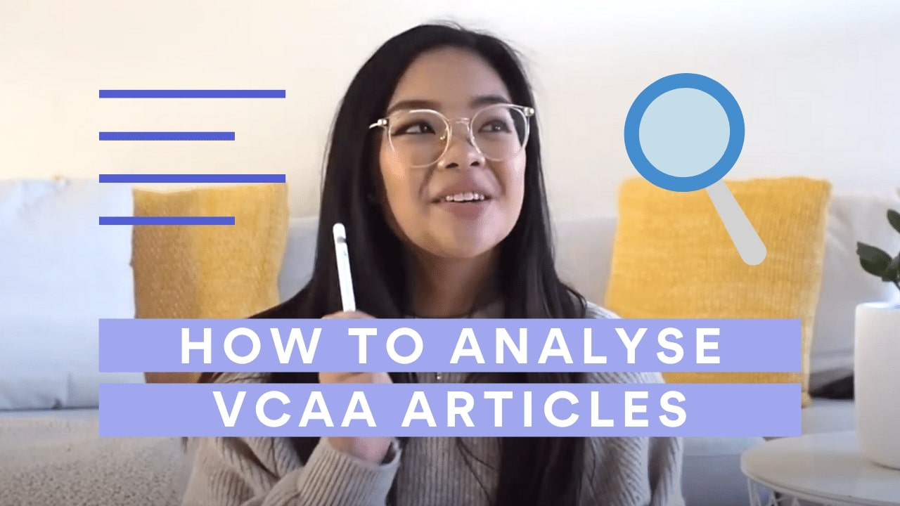 Analyse VCAA 2020 Sample Language Analysis Article with Me