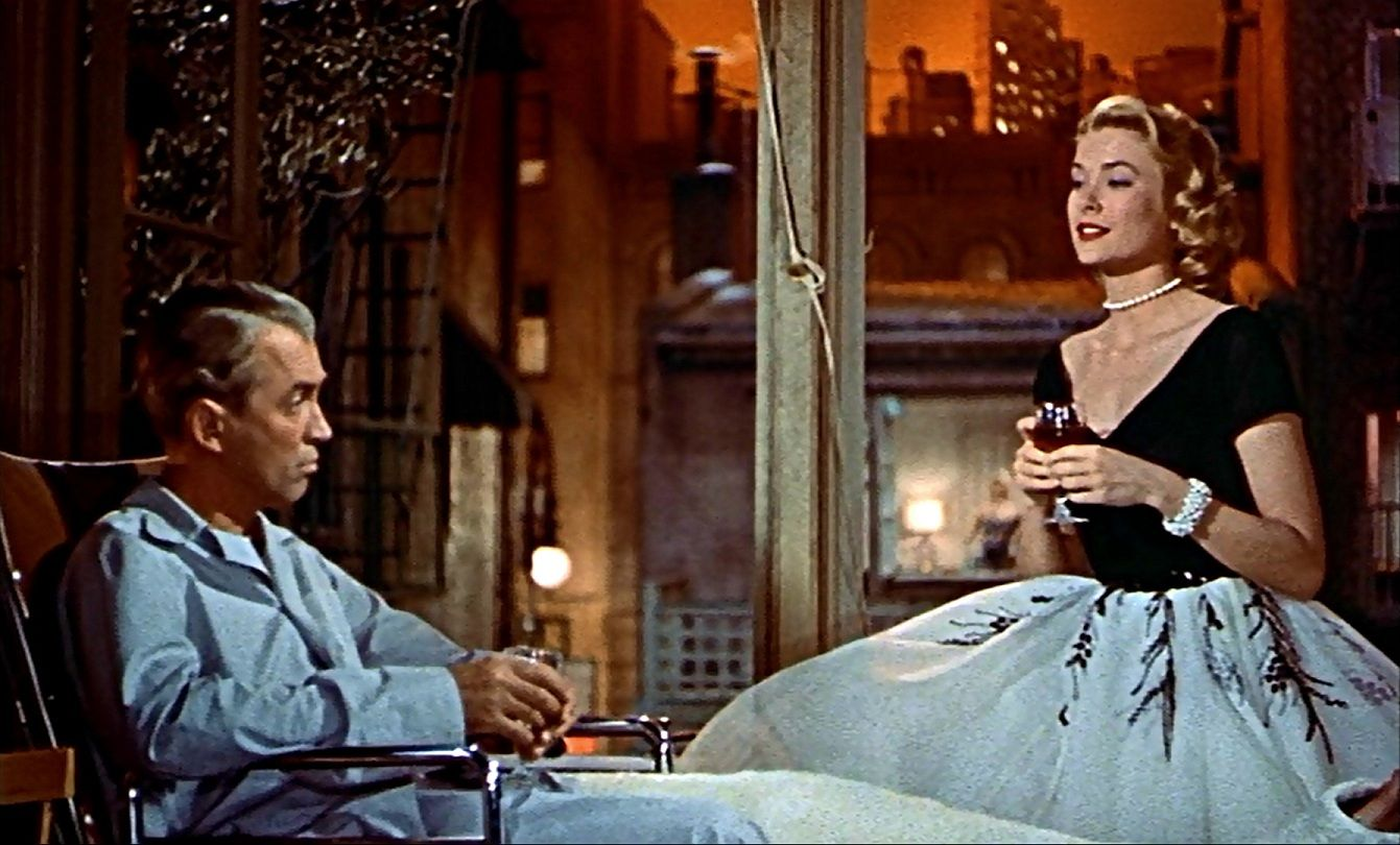 Rear Window by Alfred Hitchcock