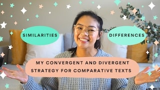 VCE Comparative: Finding Similarities and Differences with the CONVERGENT and DIVERGENT Strategy