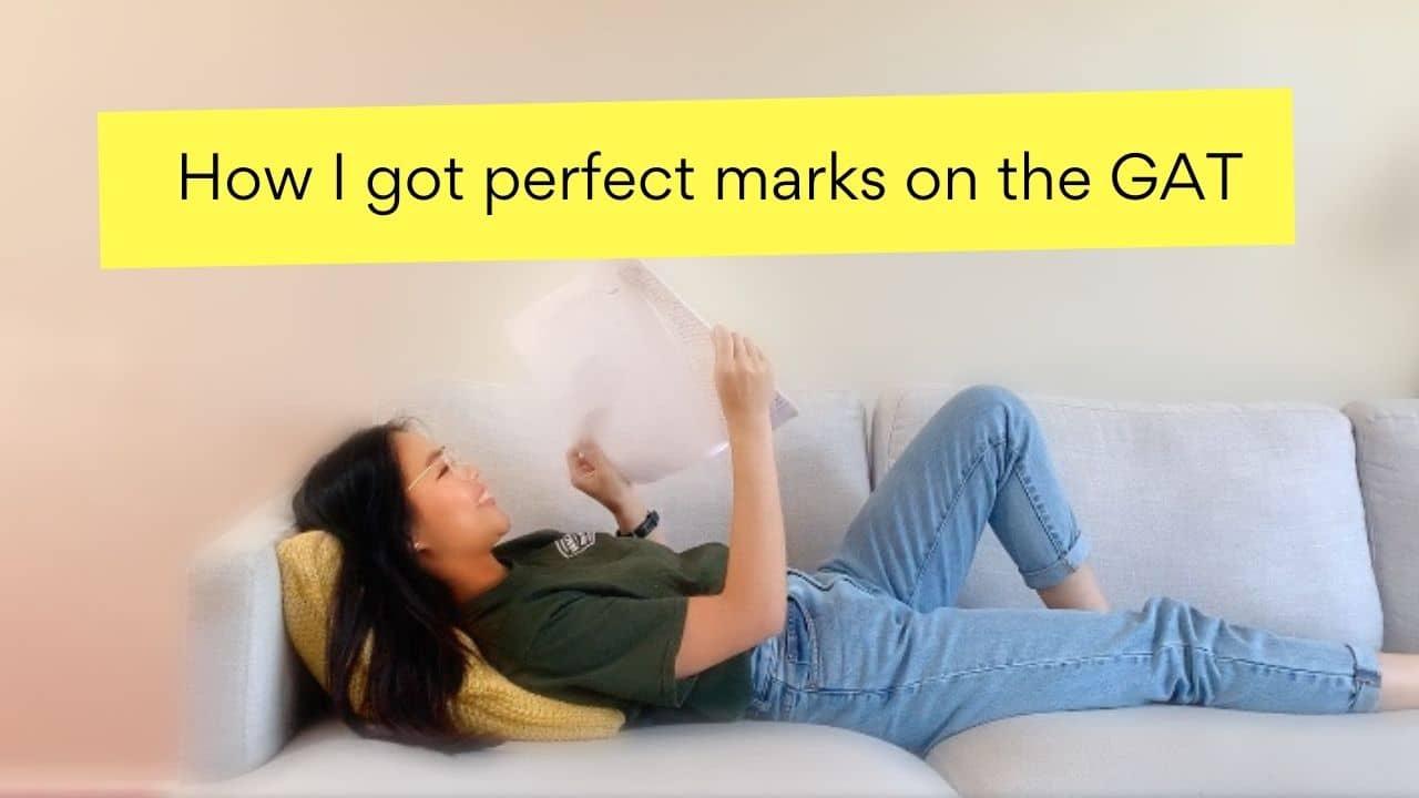 Reading My 10/10 Marked CREATIVE GAT Essay | Part 1