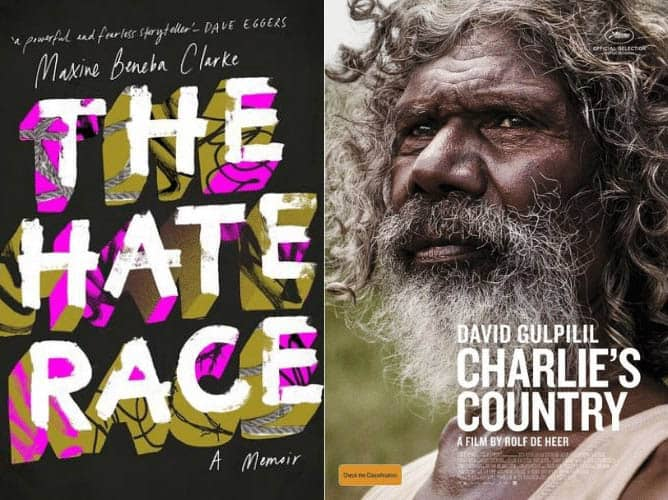 Comparing The Hate Race and Charlie's Country