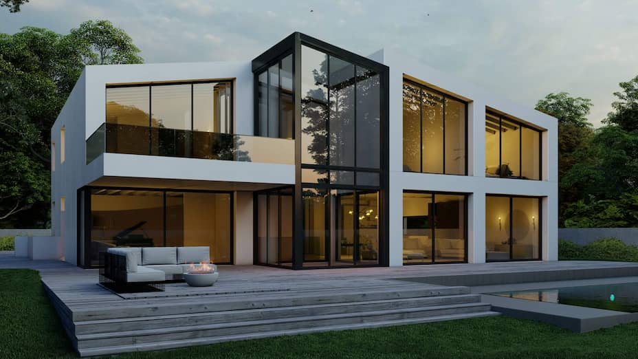 Le projet de la villa de Tannay de MS3D.
