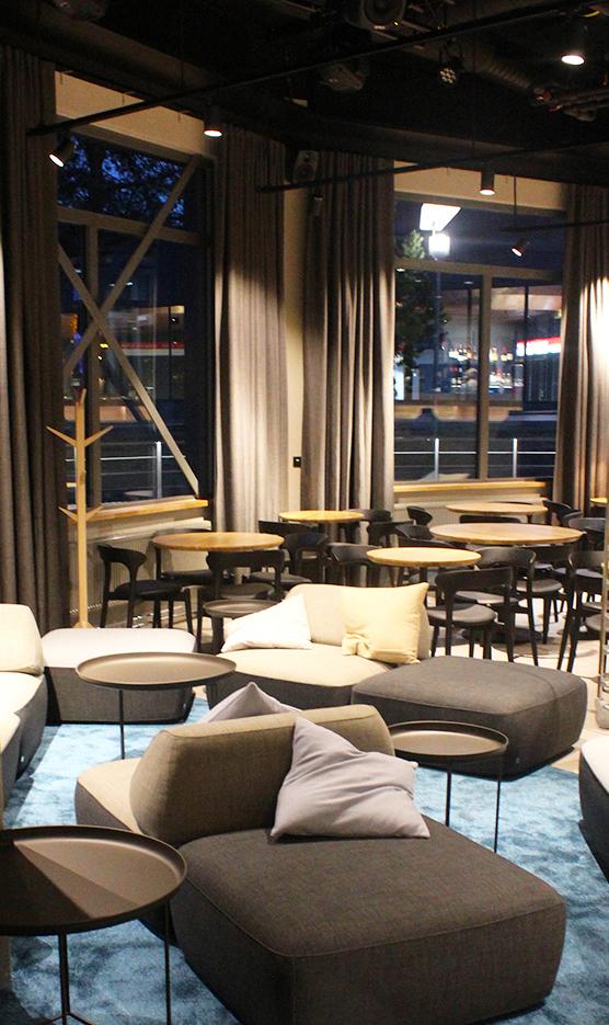 Ravintolan lounge