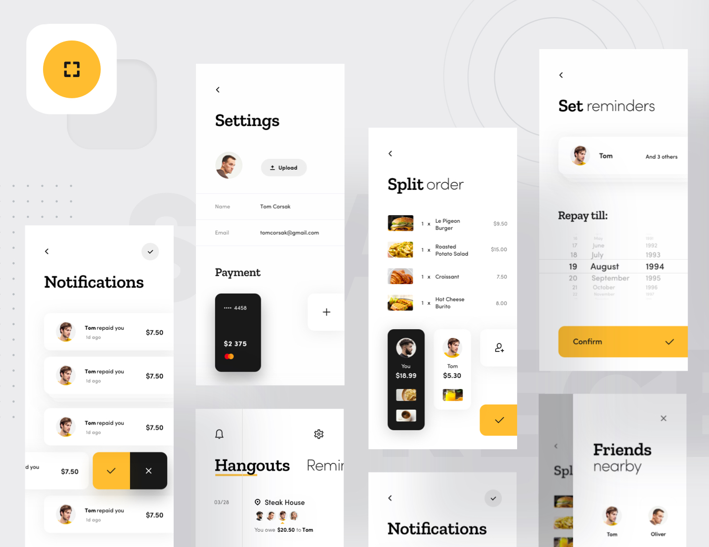 Hango mobile application preview image