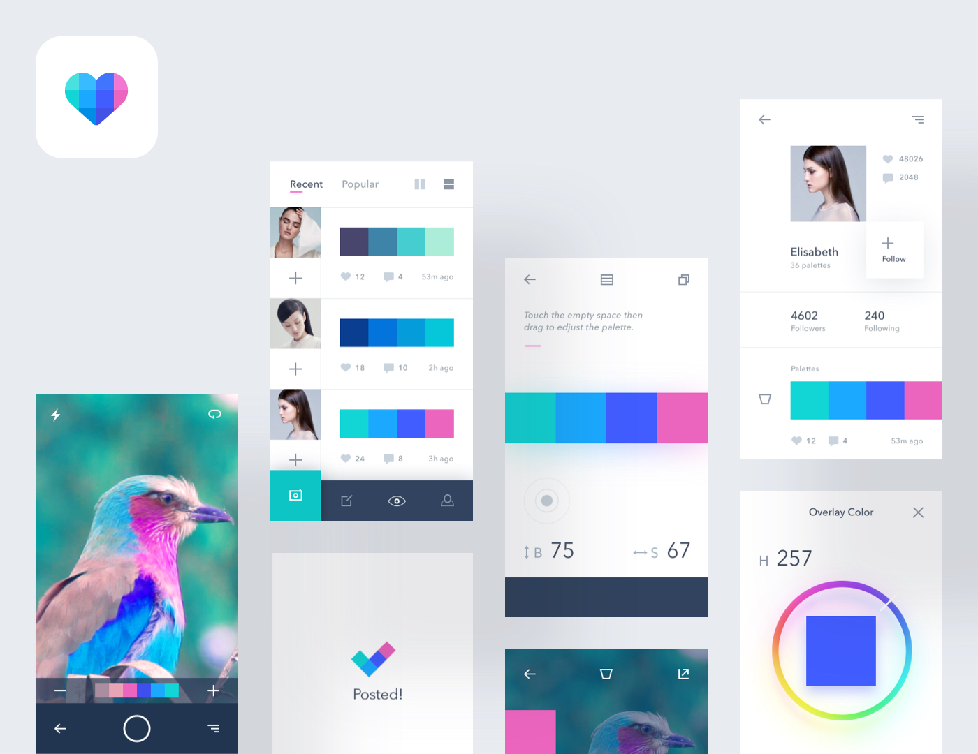 Coly mobile application preview image