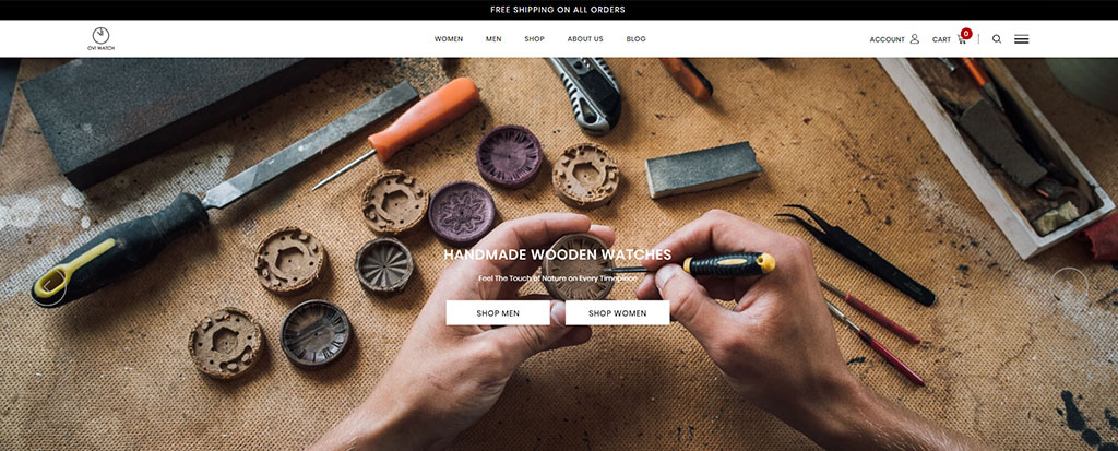Shopify Announcement Bar - Free Shipping on All Orders