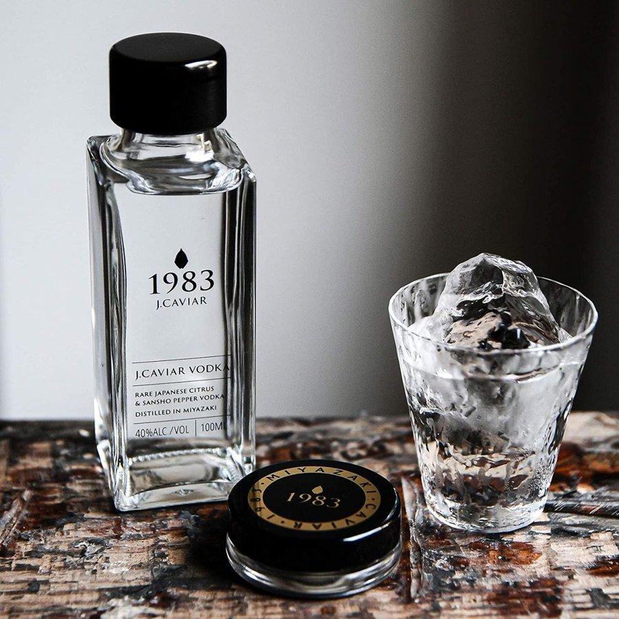 vodka for caviar