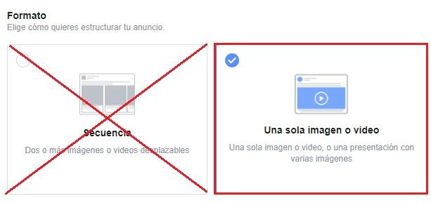 Formato imagen en las historias de facebook