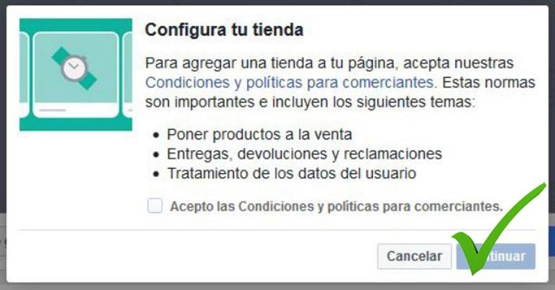 Cómo crear tu tienda en Facebook de forma fácil - Paso 3