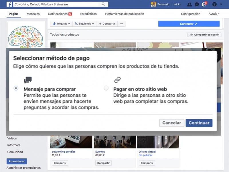 Cómo crear tu tienda en Facebook de forma fácil - Paso 4