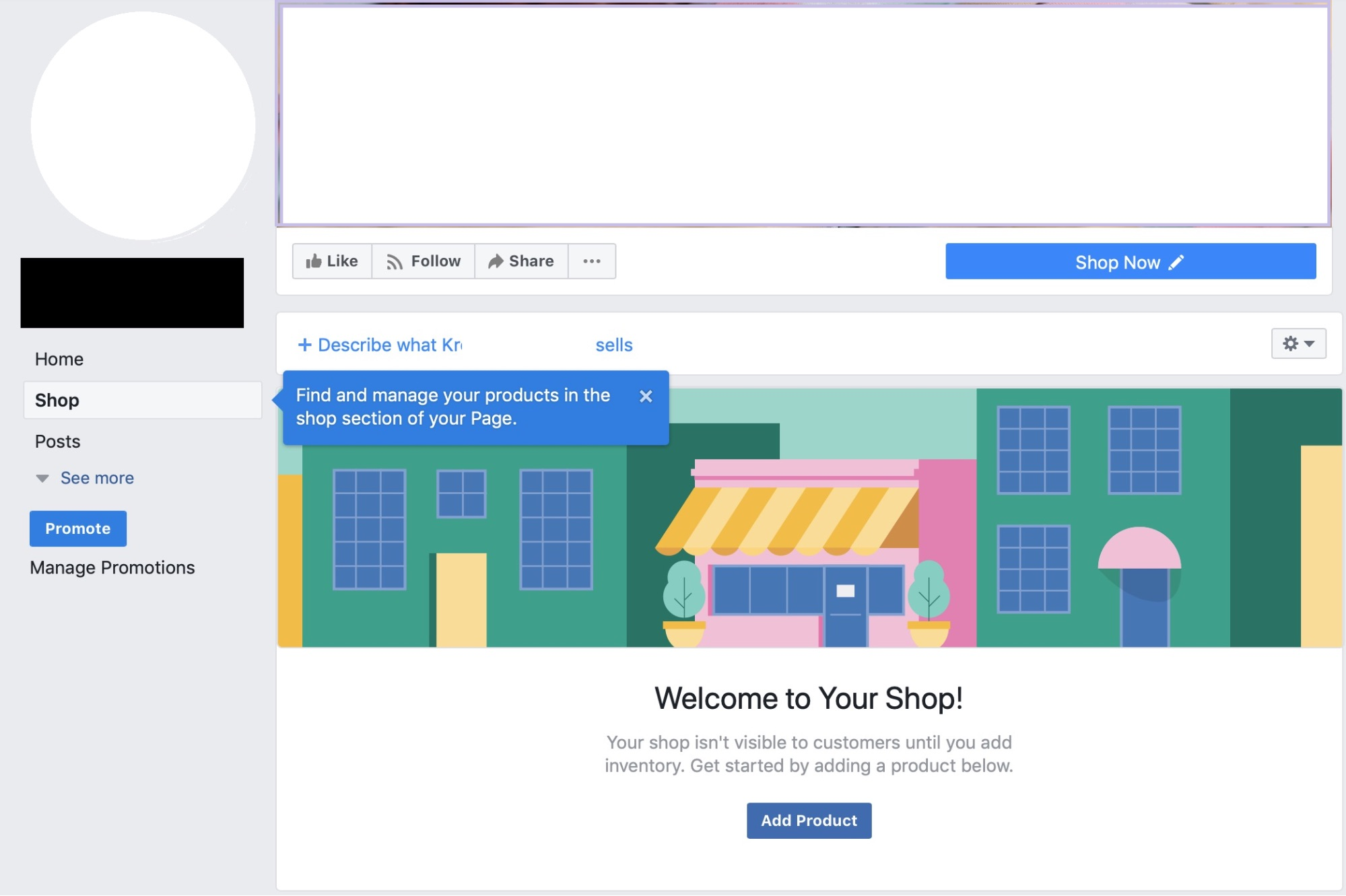 Cómo crear tu tienda en Facebook de forma fácil - Paso 5