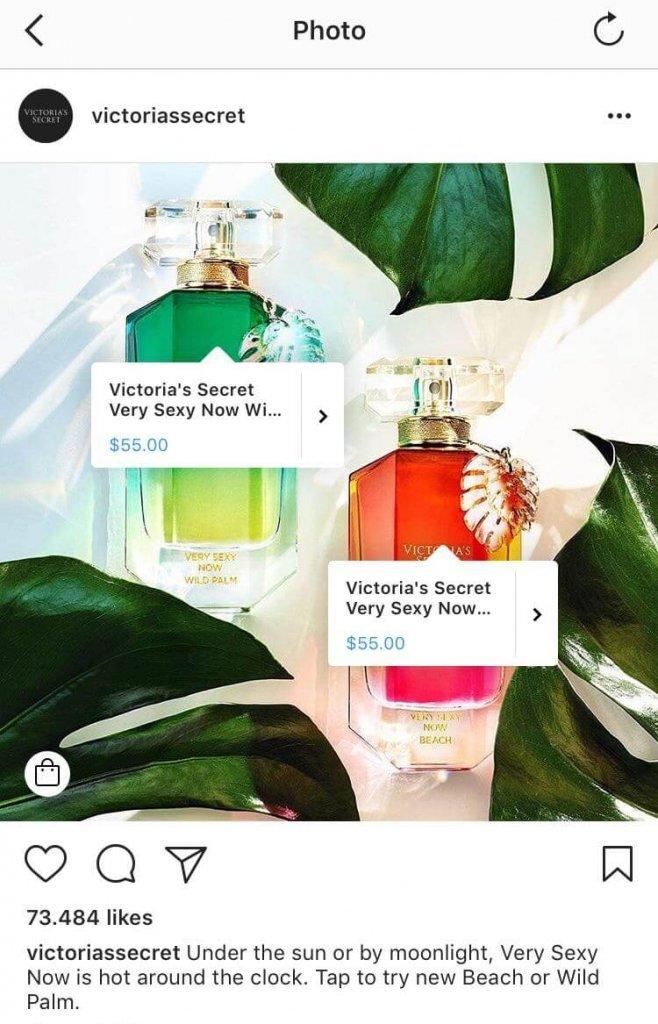 etiquetar productos en Instagram Shopping