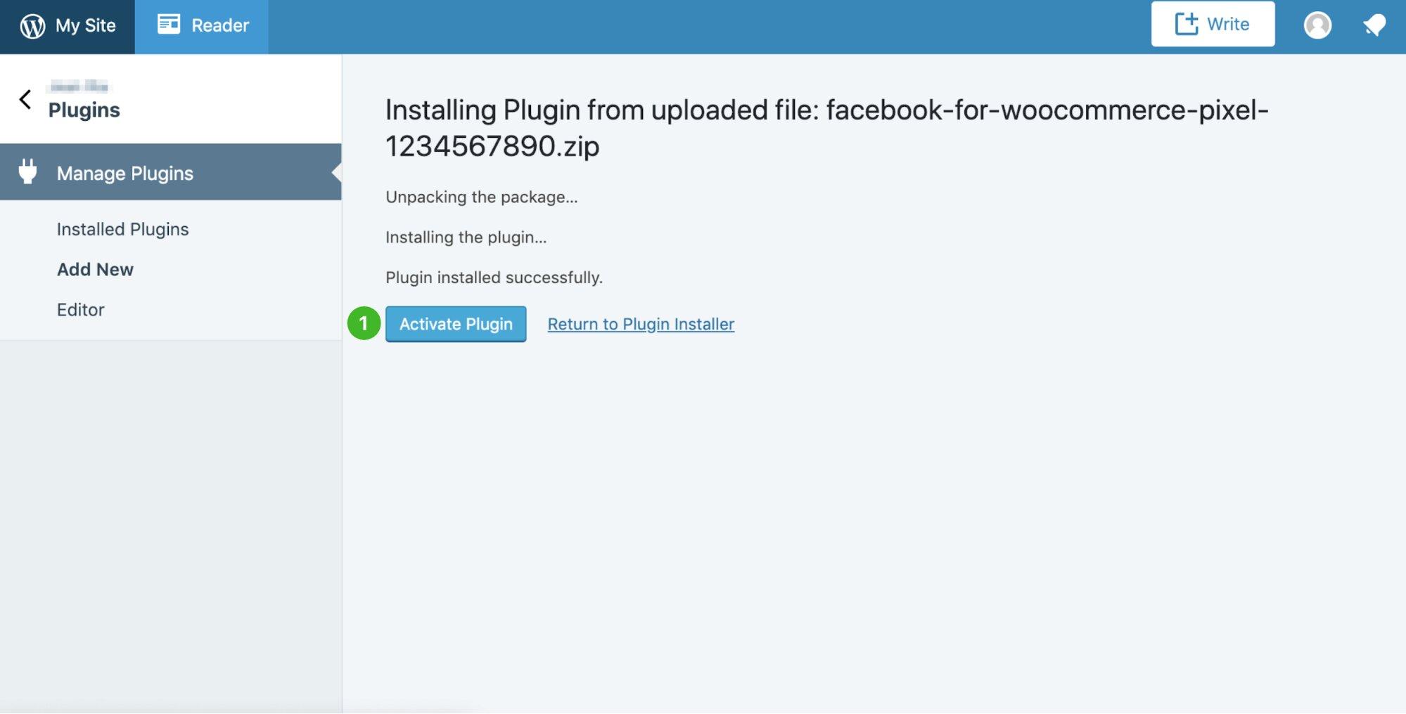 activar facebook pixel para woocommerce