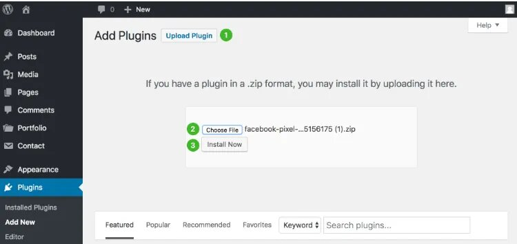 cargar pixel facebook pixel for woocommerce