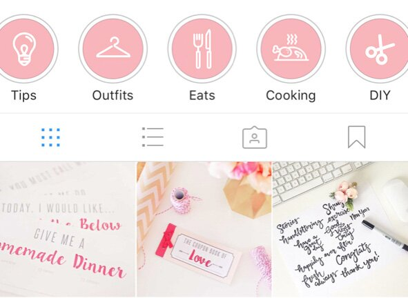 historias destacadas en Instagram
